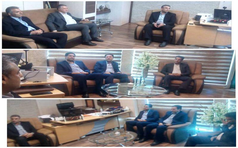 دیدارهای مدیرعامل باشگاه مس کرمان با مدیرکل ورزش و جوانان و رئیس هیات فوتبال