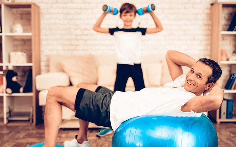 راهنمای اروپایی فعالیت بدنی در خانه برای مقابله با کرونا
