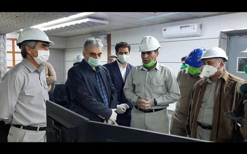 بازدید مدیرعامل شرکت مس از کارخانه 120 هزار تنی ذوب خاتونآباد