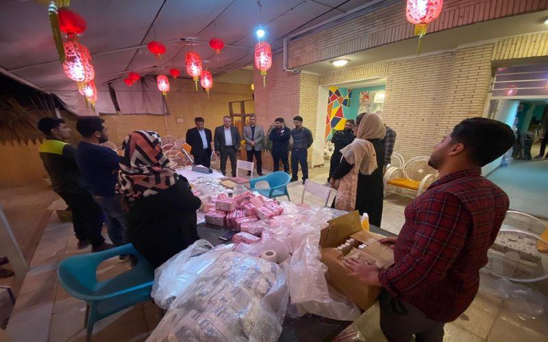 همراهی مقامات باشگاه مس کرمان با ستاد مردمی ورزشکاران در راه مبارزه با کرونا(عکس)