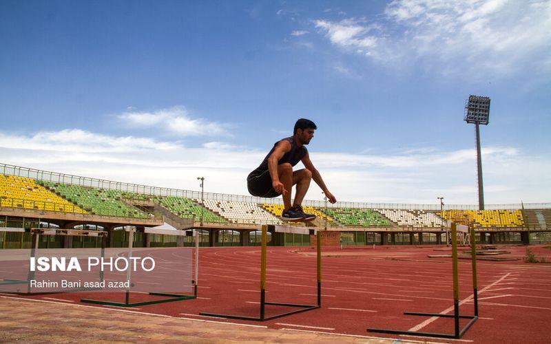تمرینات دونده مس برای کسب سهمیه المپیک توکیو(عکس)