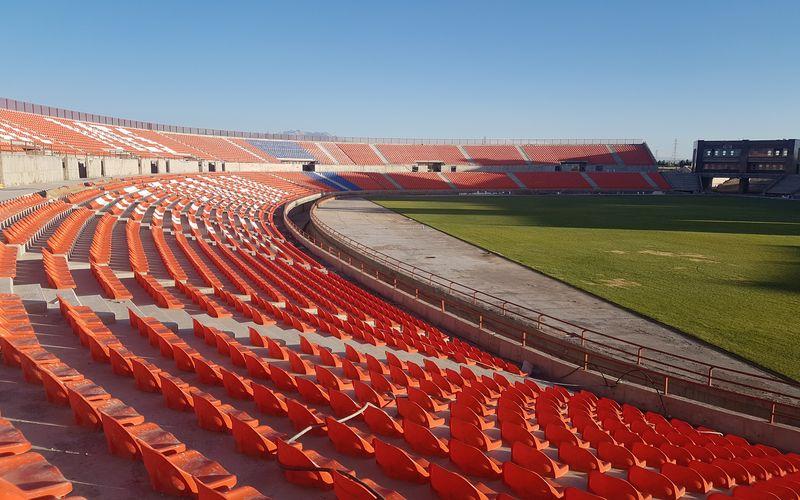 گزارش تصویری از روند صندلی گذاری در ورزشگاه شهدای مس