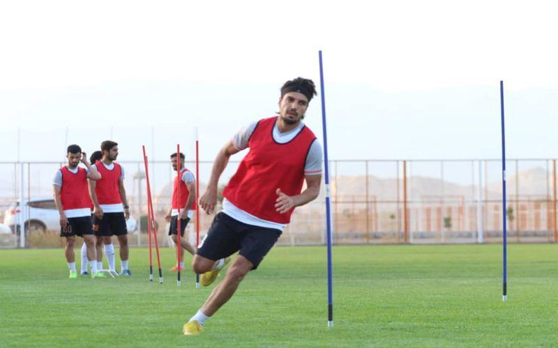 سری دوم گزارش تصویری از تمرینات تیم فوتبال مس کرمان