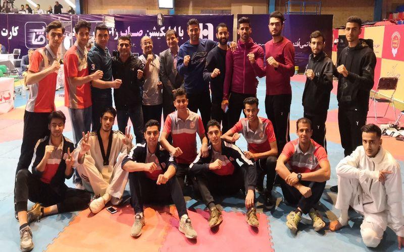 تشکر ریاست هیات تکواندو کرمان از مجموعه ورزش مس بابت حمایت از تیم تکواندو