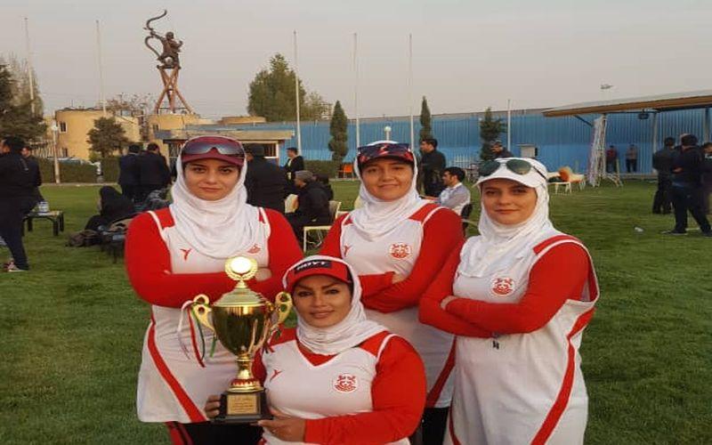 تیرانداز بانو تیم مس: قهرمانی دختران مس در مسابقاتی با سطح بالا رقم خورد
