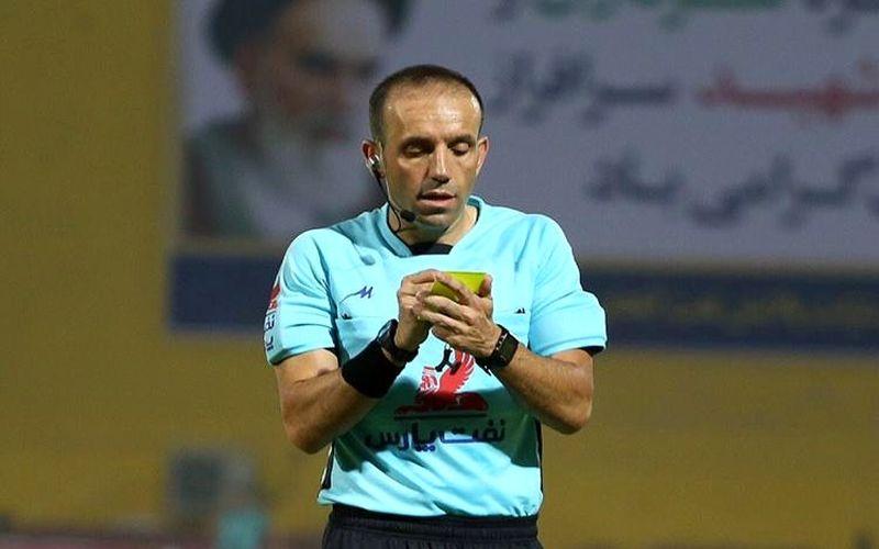وحید کاظمی داور ال مسینو در لیگ یک