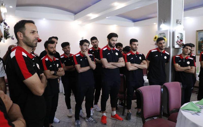 برای بازی برابر بادران، مسی ها دیشب به تهران رسیدند