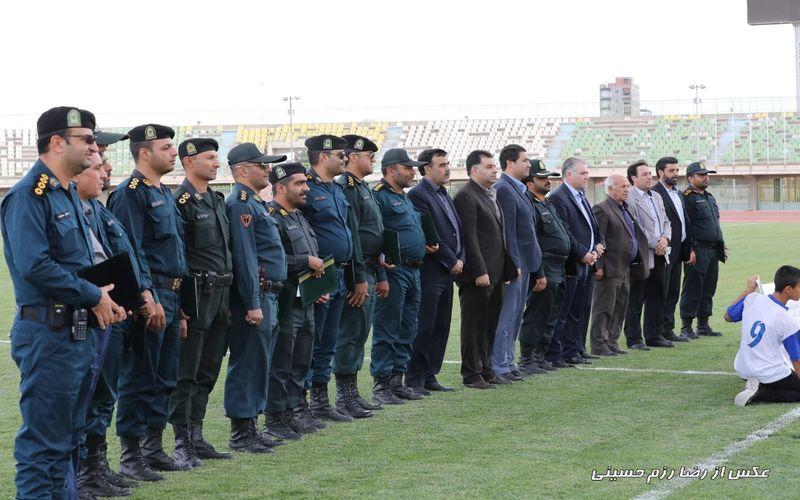 تشکر کمیته انضباطی از فرمانده یگان ویژه کرمان به دلیل کنترل اتفاقات بازی با سپیدرود