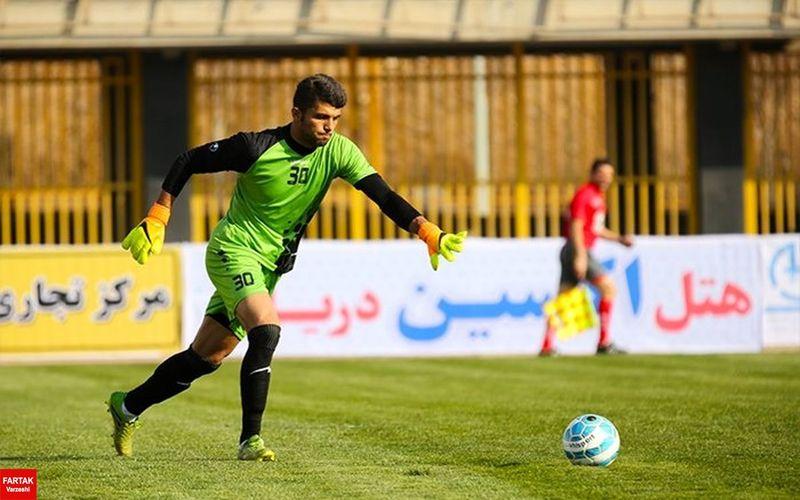 آمار قابل توجه کلین شیت محمد خزایی دروازه بان جدید مس کرمان در بازی های فصل قبل