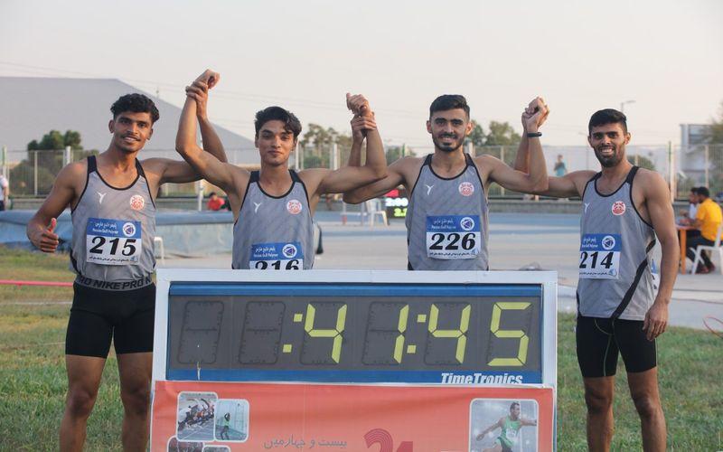 درخشش دونده های مس کرمان در مرحله دوم لیگ کشور(عکس)