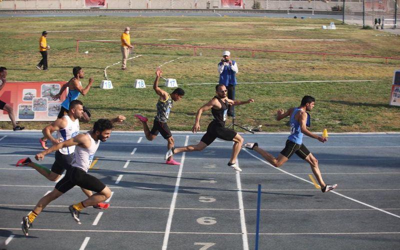 طلای فوق العاده ابارقی در صد متر و دو عنوان ارزشمند دونده های مس کرمان