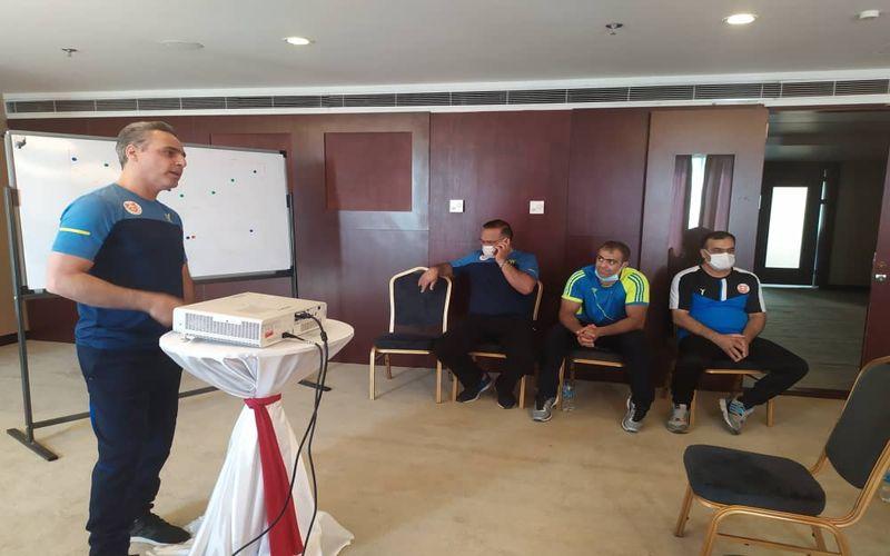 سرمربی هندبال مس: علیرغم برد، از بازی رضایت کامل را ندارم