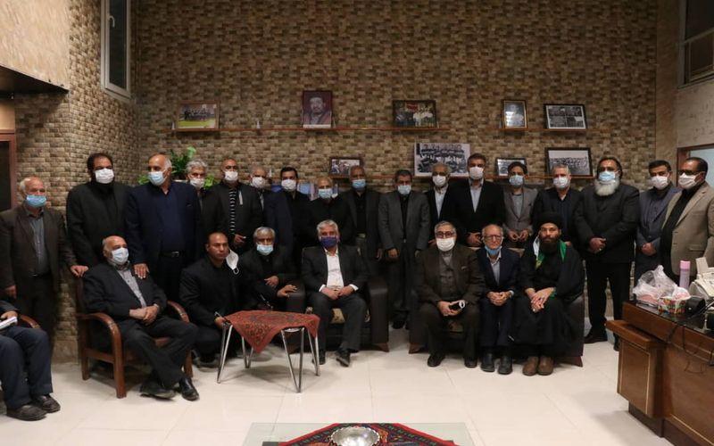 حضور مدیران باشگاه مس در مراسم گرامیداشت استاد صنعتی