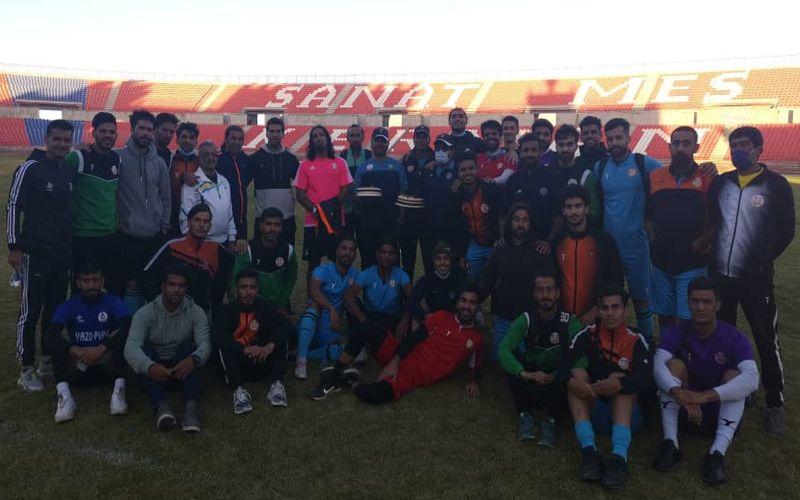 اولین تبریک روز مربی به فرزاد حسین خانی در راس تیم مس نوین