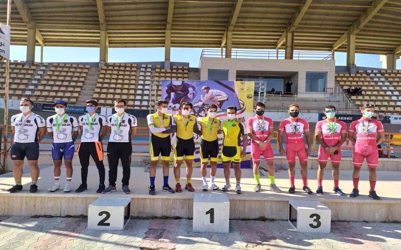 دو عنوان سومی برای دوچرخه سواران مس کرمان در روز اول لیگ برتر پیست