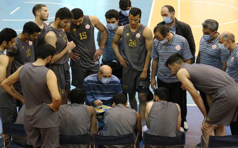 برتری بسکتبالیست های مس در یک بازی دوستانه برابر شهرداری قزوین(عکس)