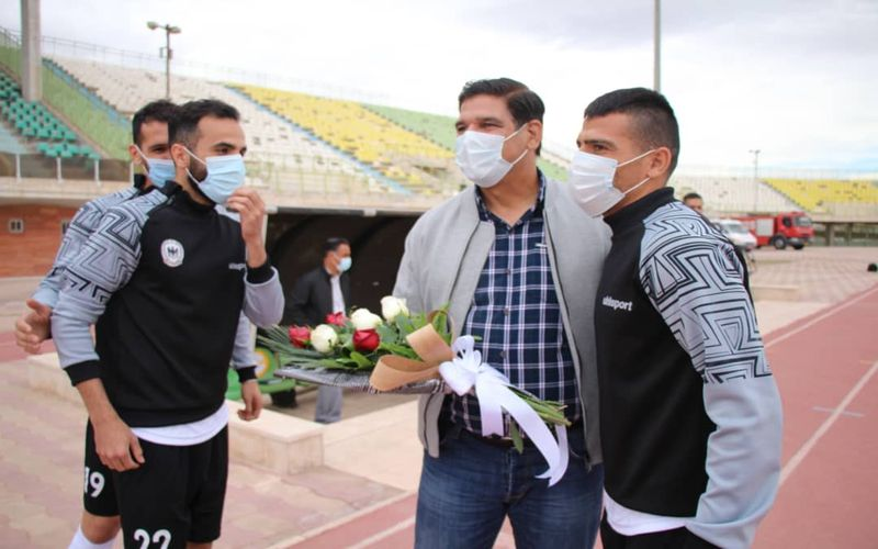 مهاجری: مدیریت خوب بر بازی سبب کسب پیروزی بر شاهین شد