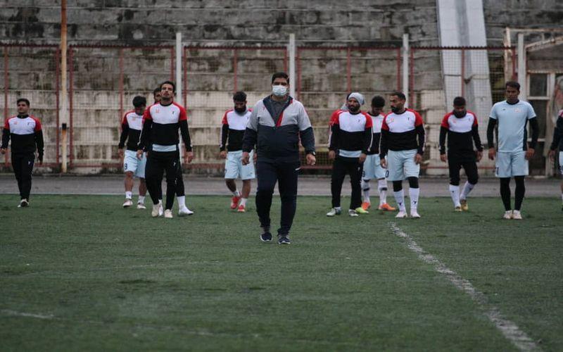 گزارش تصویری از آخرین تمرین مس کرمان در رشت پیش از بازی با شهرداری آستارا