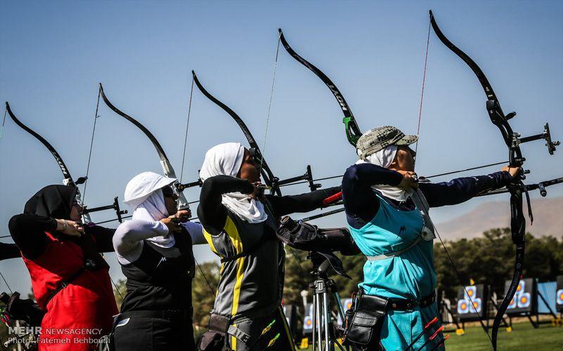 برنامه رقابت های دختران تیرانداز مس در لیگ برتر کامپوند برای دفاع از قهرمانی