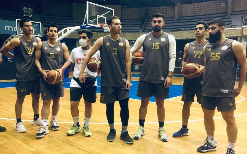 بسکتبالیست های مس کرمان آماده برای بازی های امروز و فردا(عکس)