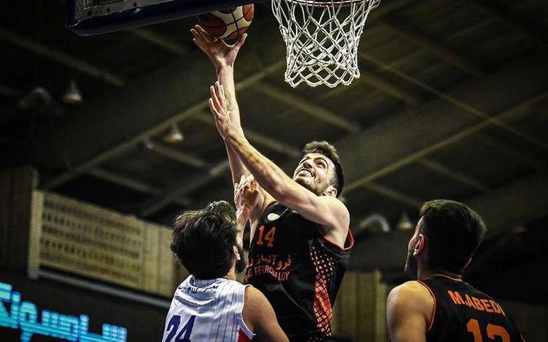 گزارش تصویری بازی بسکتبال مس کرمان و آینده سازان