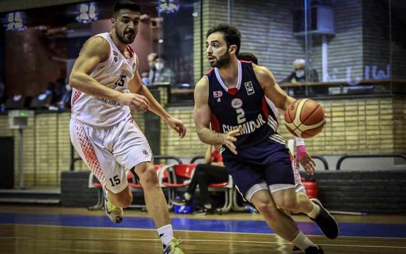 گزارش تصویری بازی بسکتبال مس و شمیدر