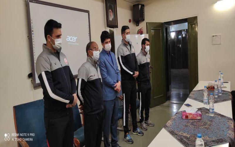 حضور سرپرست باشگاه مس کرمان در اردو تکواندوکاران مس