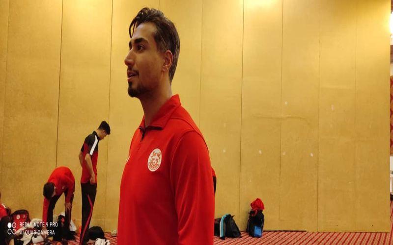 سجاد مردانی کاپیتان تیم تکواندو مس کرمان: با همت بچه ها،از گروه خود صعود می کنیم
