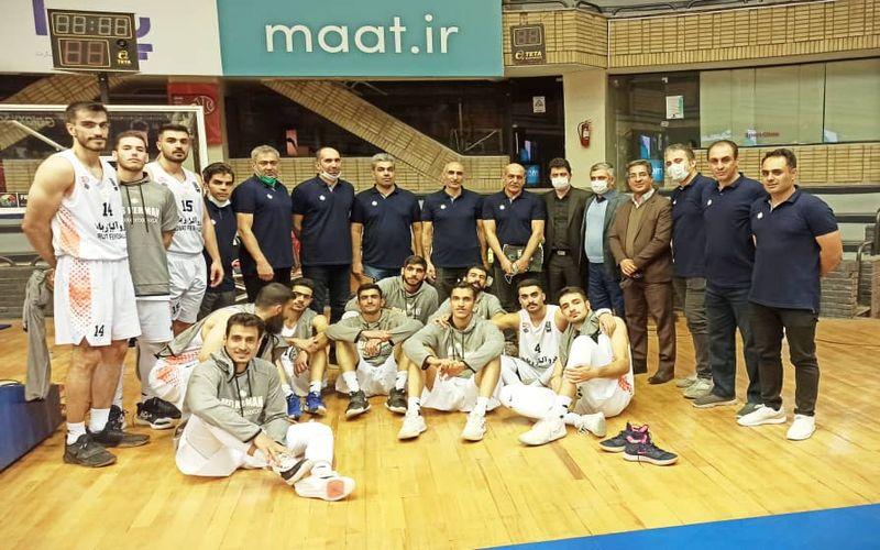 با پیروزی بر شهرداری بندرعباس/بسکتبالیست های مس کرمان در جمع چهار تیم برتر دور رفت