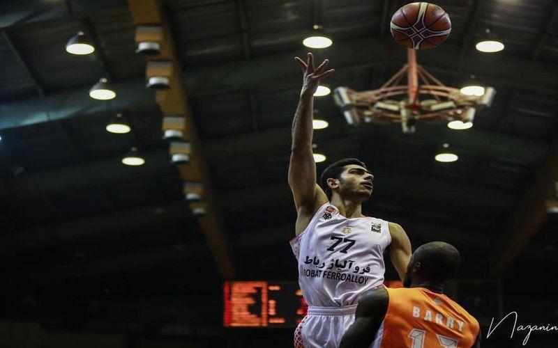 گزارش تصویری بازی بسکتبال مس کرمان و شهرداری بندرعباس
