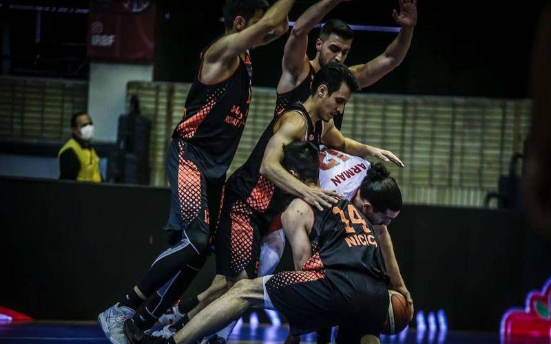 گزارش تصویری بازی بسکتبال مس کرمان و مهرام