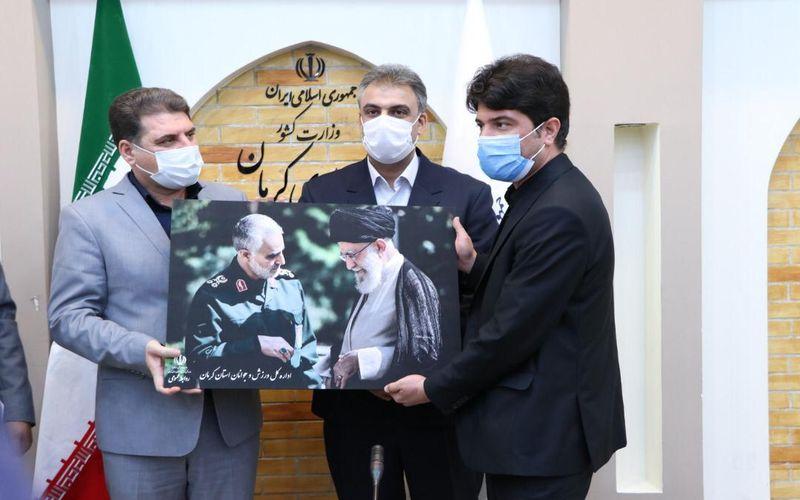 تقدیر از سرپرست باشگاه مس کرمان در جلسه شورای ورزش استانداری کرمان