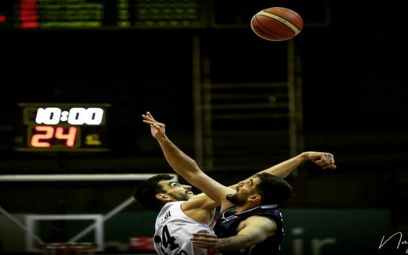 گزارش تصویری بازی برگشت بسکتبال مس کرمان و نیروی زمینی