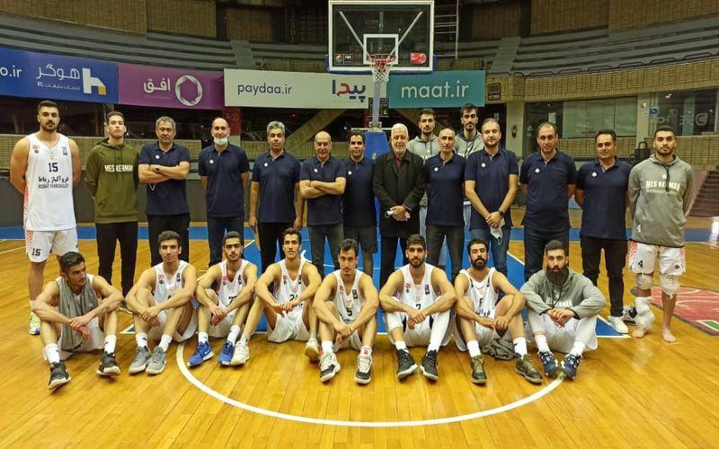 یک پیروزی آینده ساز برای بسکتبالیست های مس کرمان