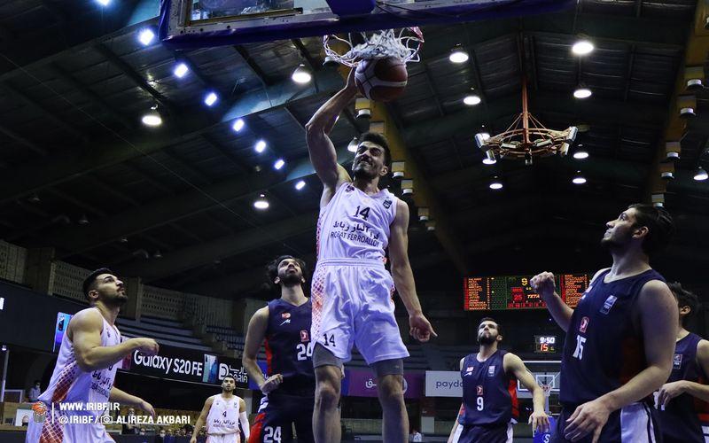 گزارش تصویری بازی بسکتبال مس کرمان و شیمیدر