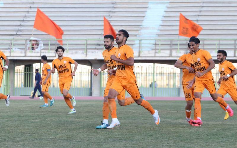 گزارش تصویری بازی مس نوین و شمس قزوین در جام حدفی