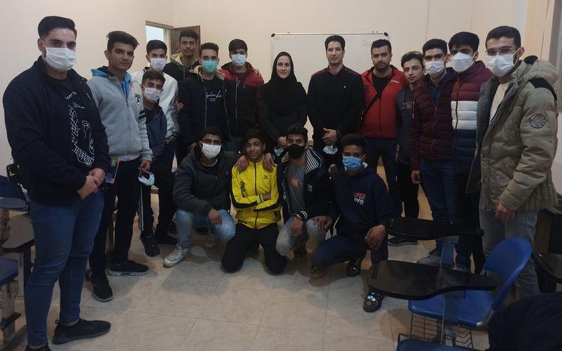 کلاس توجیهی کاراته کاهای مس کرمان برای حضور در رقابت های لیگ برتر