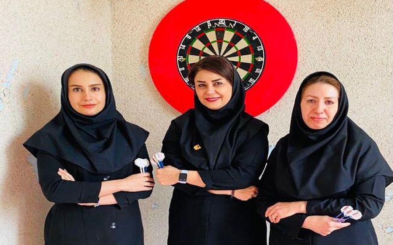 برگزاری مسابقه دارت ویژه پرسنل بانو باشگاه مس کرمان