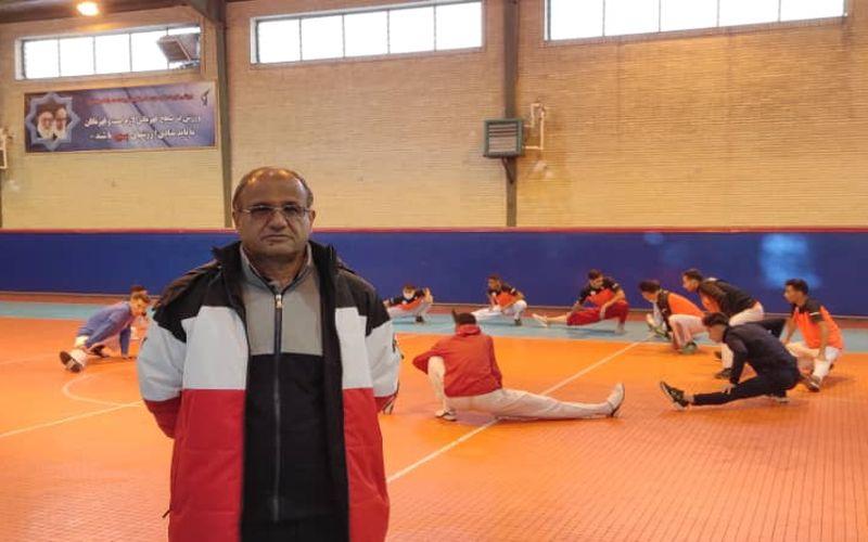 عبدالرشیدی مربی تیم تکواندو مس کرمان: بهترین عملکرد خود را در نیمه نهایی ارائه می کنیم