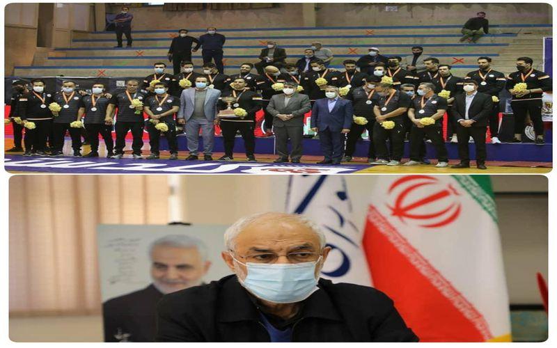 پیام تبریک آقای دکتر زاهدی نماینده مردم کرمان در مجلس به دو تیم هندبال و تکواندو مس