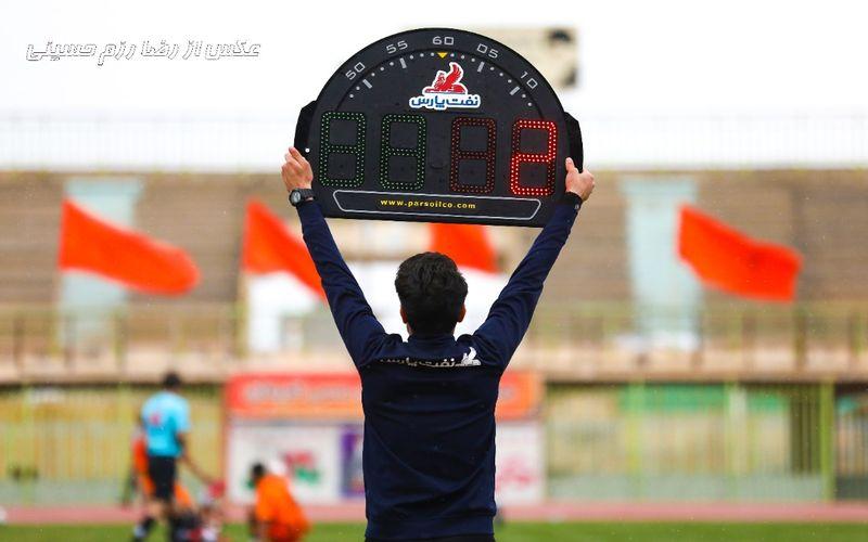 قضاوت شجاعی برای مس کرمان و جبرئیلی برای مس نوین در جام حذفی