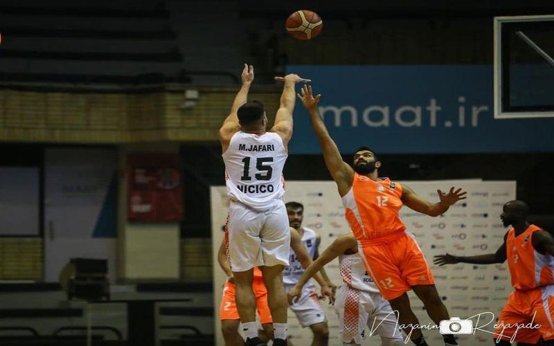 پیروزی عالی بسکتبالیست های مس کرمان در بازی آخر و صعود به رده چهارم