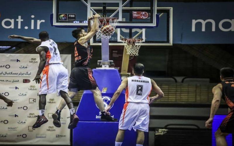 گزارش تصویری بازی بسکتبال مس و شهرداری بندرعباس
