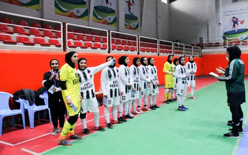 پیروزی پرگل دختران فوتسال مس با 8 گل برابر فجر شیراز