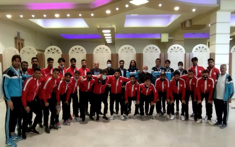 حضور سرپرست و اعضای هیات مدیره باشگاه مس در اردوی تیم مس نوین(عکس)