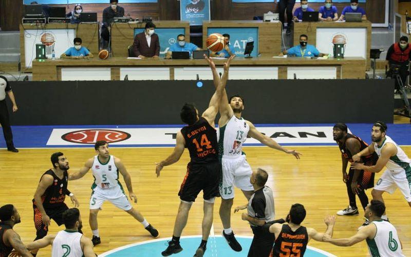 باخت نزدیک بسکتبالیست های مس کرمان در پلی آف اول