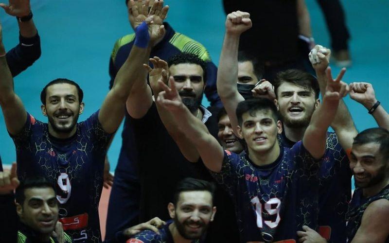 تبریک باشگاه مس کرمان به باشگاه فولاد سیرجان بابت قهرمانی تیم والیبال در لیگ برتر