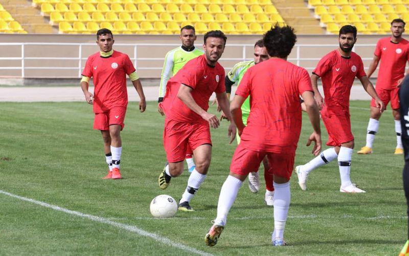 تساوی یک بر یک مس کرمان در بازی دوستانه برابر پدیده در مشهد(عکس)