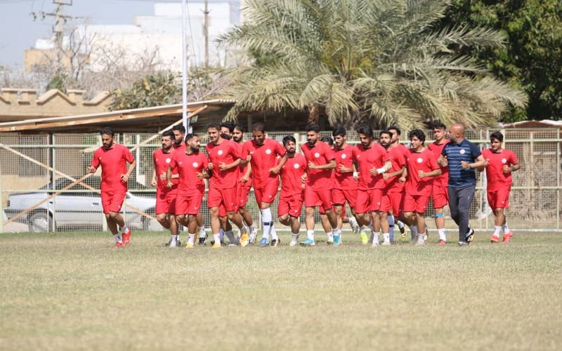 آخرین تمرین مسی های کرمان پیش از بازی با شاهین در بوشهر(عکس)