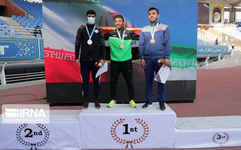 کسب مدال نقره 200 متر سرعت در مسابقات بین المللی مشهد توسط دونده مس کرمان